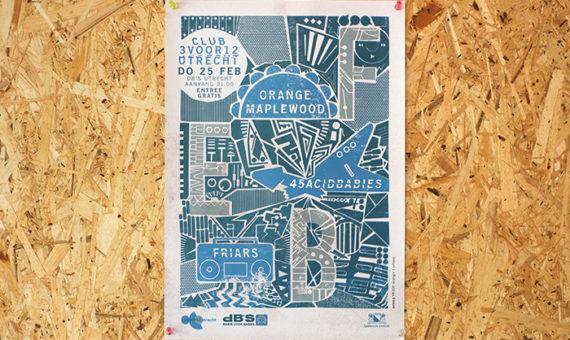 3voor12 Utrecht Posters