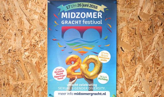Midzomergracht Festival promotiemateriaal